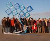 Hot Zone verzorgd op het strand van Wijk aan Zee; bedrijfsuitjes, evenementen, activiteiten, feesten,  vrijgezellenfeesten van reuze vlieger bouwen tot blokarten.