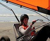 Blokarten in professionele blokarts doe je natuurlijk op het strand in Wijk aan Zee! Bij HotZone race je al binnen een paar minuten langs de vloedlijn.